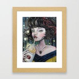 Poison Exclusif Framed Art Print