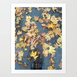 Autumn Floor Art Print