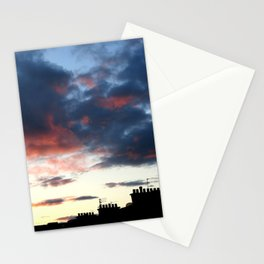 Tenement Sunset  Stationery Cards