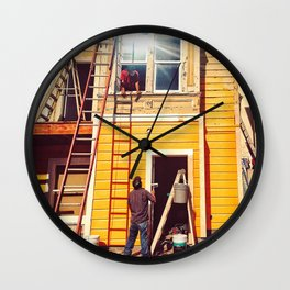 Hardworking Wall Clock