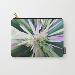 447 - Abstract Flower Design Carry-All Pouch