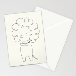 Love Yourself Lion Stationery Cards