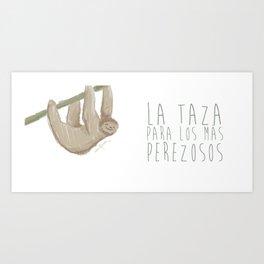 PEREZOSO Art Print
