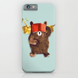 No Care Bear - My Sleepy Pet iPhone Case