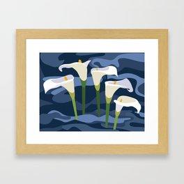 Gannets Framed Art Print