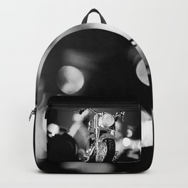Motorbike-B&W Backpack