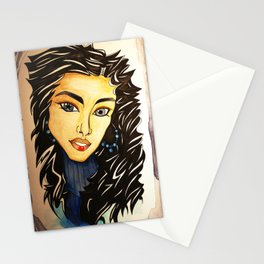 Star in the Eye Stationery Cards