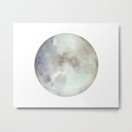 Over the Moon Metal Print