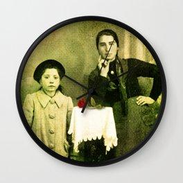 Genealogy Wall Clock