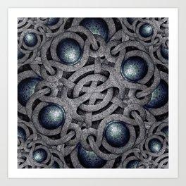 Celtic Ornament Pattern Art  Art Print