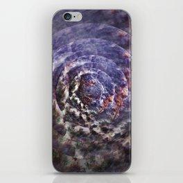 Mystic circle iPhone Skin