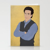 seinfeld Stationery Cards featuring Jerry Seinfeld // Seinfeld // Graphic Design by Dick Smith Designs