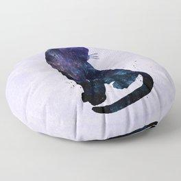 Galactic Cat Floor Pillow