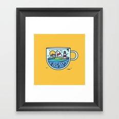 CupScape Framed Art Print