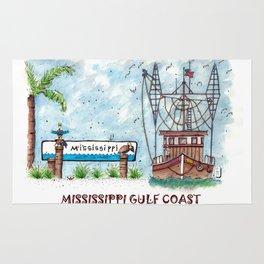 Mississippi Gulf Coast Rug