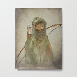 Archer Metal Print