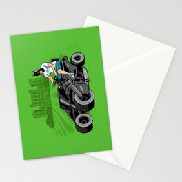 The Bat-mow-bile Stationery Cards
