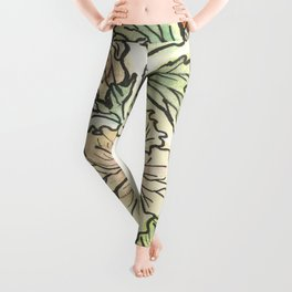 Tropical Hibiscus Leggings