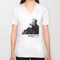 tolkien V-neck T-shirts featuring Tolkien - Wander by Illyrio_Mopatis