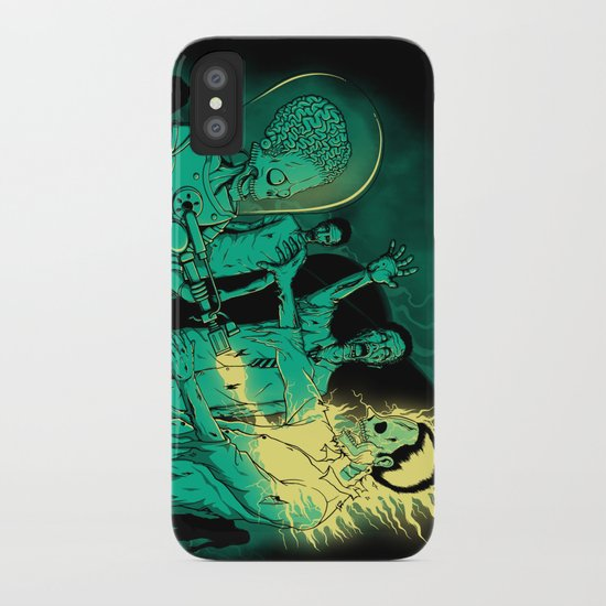 Zombies Attack iPhone Case