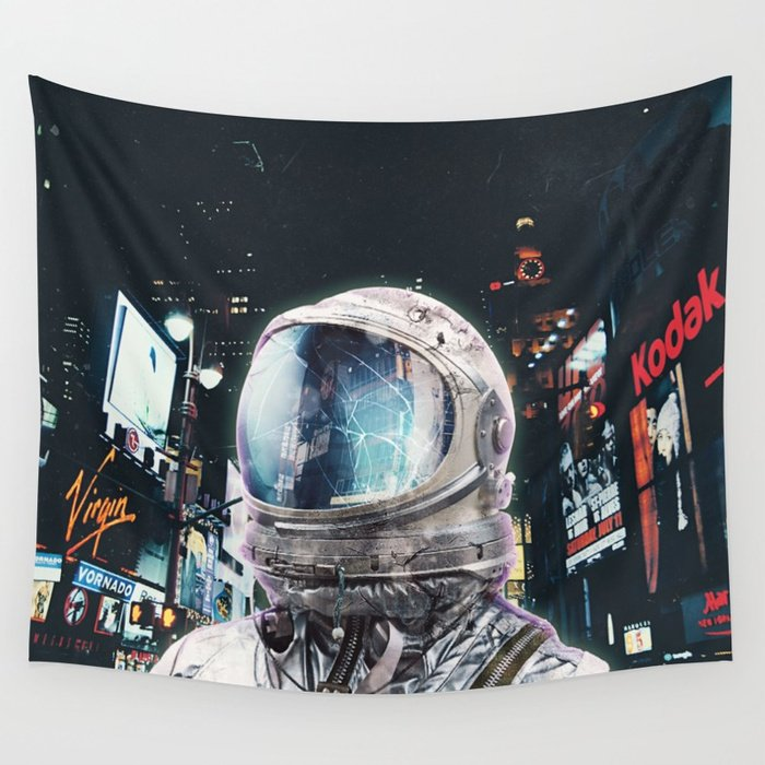 Night Life Tapestry by Seamless Editions