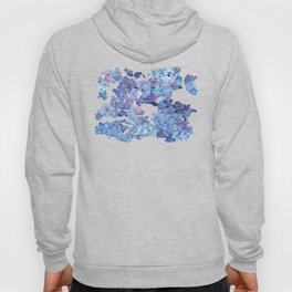 Periwinkle Flowers-Floral Design-Style 3-by Hxlxynxchxle Hoody