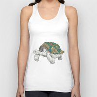 tortoise Tank Tops featuring Tortoise by Ouizi - Los Angeles