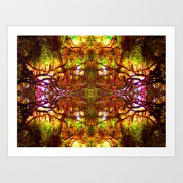 Tree of Life Abstract Art Print