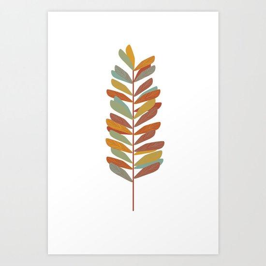 Branch 2 Art Print
