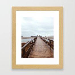 Good Harbor Beach Framed Art Print