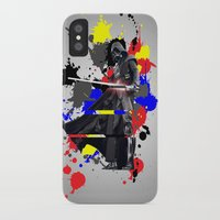 vader iPhone & iPod Cases featuring VADER by vicotera