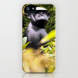 Gorilla in my front yard iPhone Case