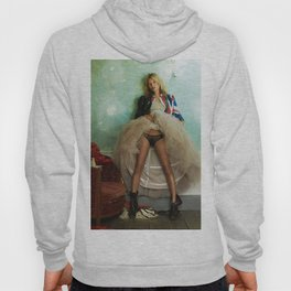 Kate Moss wing mirror , Home Décor Hoody