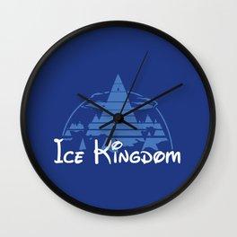 Ice Kingdom Wall Clock