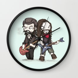 Born To Raise Cowboys From Hell Fine Art Print Wall Clock