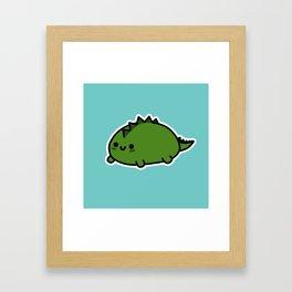 Little Dino Framed Art Print