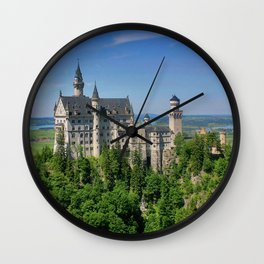 Neuschwanstein_20171101_by_JAMFoto Wall Clock