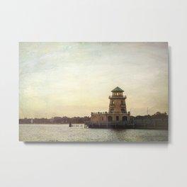 Biloxi Lighthouses Metal Print