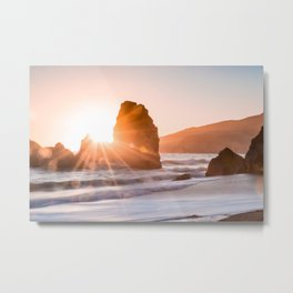 Seaset Metal Print