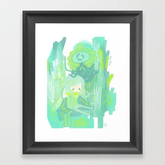Toned Framed Art Print