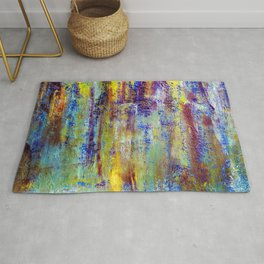 abstract thoughts Rug