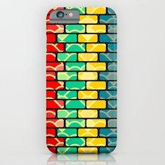 Colorful bricks Slim Case iPhone 6s