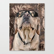 yeah man . . . this is really high! Canvas Print