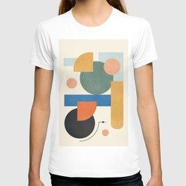 Geometric Color Play 01 T-shirt