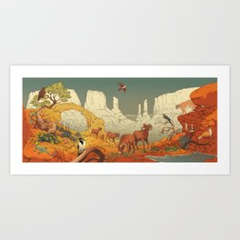 National Parks: Arches Art Print