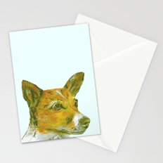 Jack Russell printed from an original painting by Jiri Bures Stationery Cards