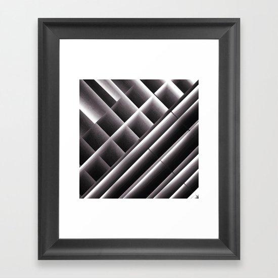 Di-simetrías 2 Framed Art Print