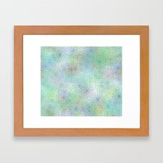 spiderwebs Framed Art Print