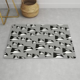 Whale pattern Rug