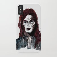 redhead iPhone & iPod Cases featuring Redhead by stephanierietkerk
